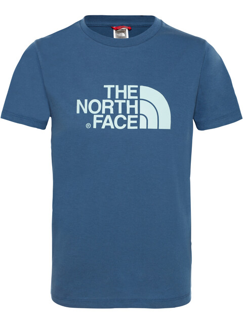 The North Face Easy S/S Tee Boys shady blue/canal blue